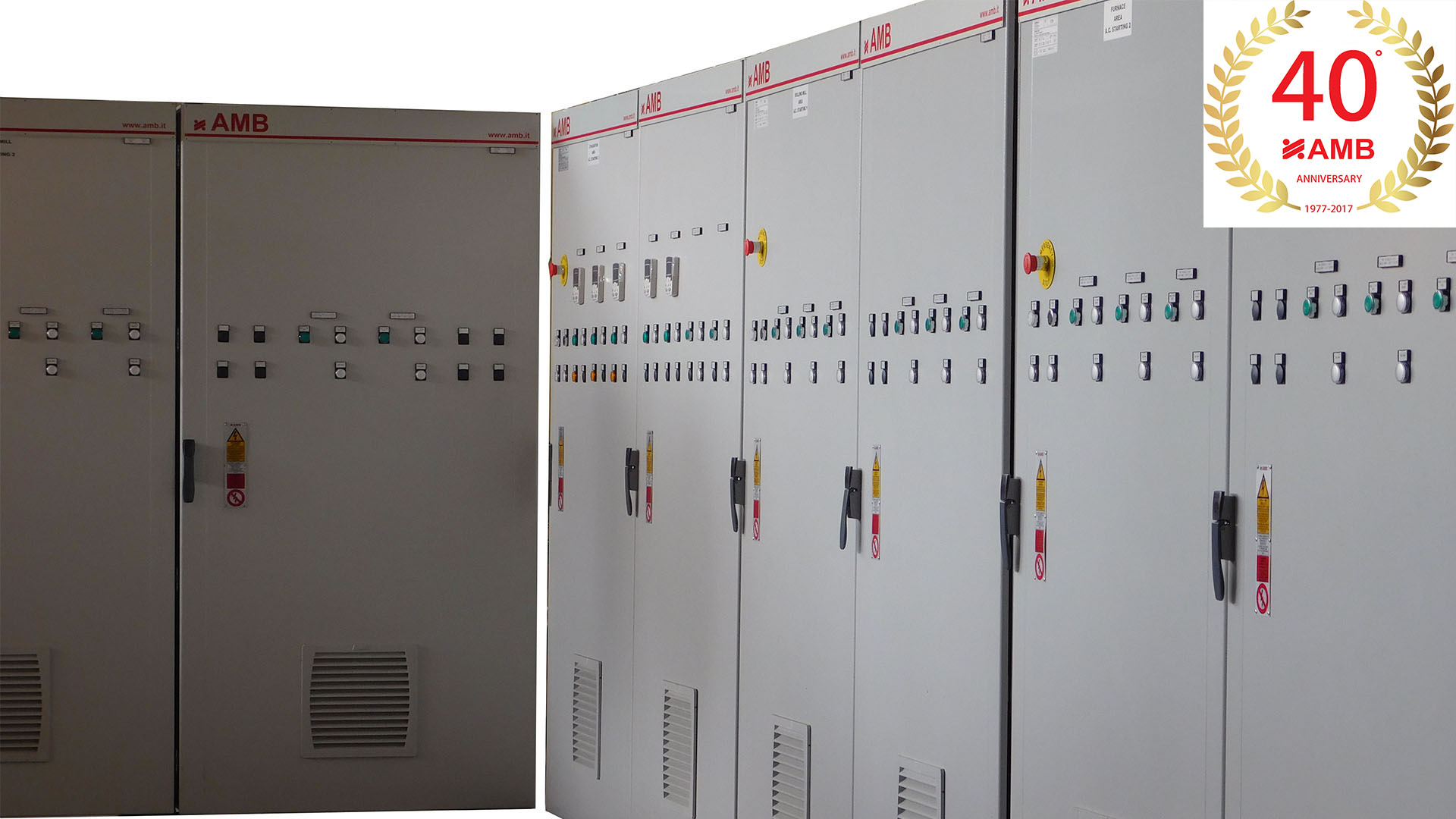 ELECTRICAL PANELS FOR HOT ROLLING MILL
